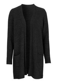 Czarny sweter Cellbes z klasycznym kołnierzykiem, klasyczny