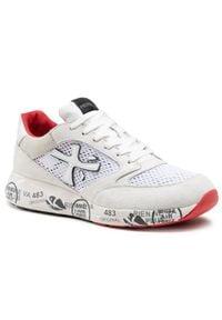Premiata Sneakersy Zaczac 5236 Biały. Kolor: biały