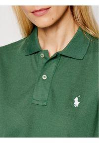Polo Ralph Lauren Polo 211806666002 Zielony Classic Fit. Typ kołnierza: polo. Kolor: zielony