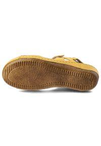 Żółte sandały Helios