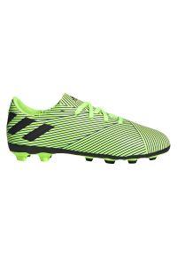 Adidas - Buty piłkarskie korki dla dzieci adidas Nemeziz 19.4 FG FV4011. Materiał: syntetyk, materiał. Szerokość cholewki: normalna. Sport: piłka nożna