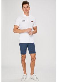 Biała koszulka polo Ellesse casualowa, na co dzień #4