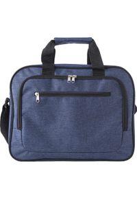 Niebieska torba na laptopa KEMER