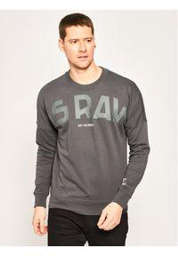 G-Star RAW - G-Star Raw Bluza Heavy Sherland D16473-A613-389 Szary Regular Fit. Kolor: szary