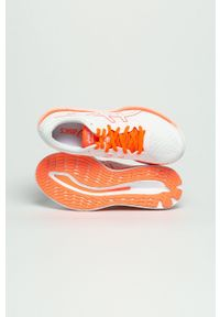 Asics - Buty GlideRide Tokyo. Nosek buta: okrągły. Zapięcie: sznurówki. Kolor: biały. Materiał: guma