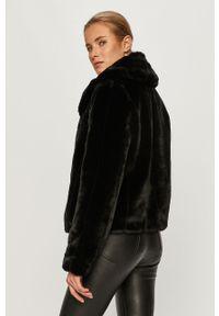 Czarna kurtka Guess Jeans casualowa, na co dzień, bez kaptura