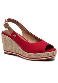 Czerwone sandały Refresh