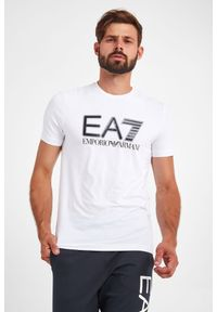 EA7 Emporio Armani - T-SHIRT EA7 EMPORIO ARMANI. Długość rękawa: krótki rękaw. Długość: krótkie. Wzór: nadruk