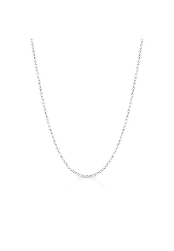 W.KRUK RABAT Srebrny Łańcuszek - srebro 925 - SXX/L925. Materiał: srebrne. Kolor: srebrny. Wzór: ze splotem