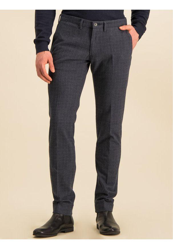 Baldessarini Spodnie materiałowe Jorck 16836/000/2298 Granatowy Regular Fit. Kolor: niebieski. Materiał: materiał