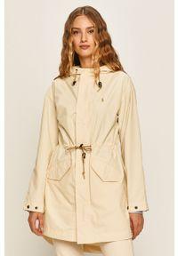 Kremowa kurtka Polo Ralph Lauren polo