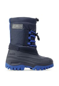 Śniegowce CMP - Ahto Wp 3Q49574K B.Blue/Royal 36NF. Kolor: niebieski. Materiał: materiał. Szerokość cholewki: normalna. Sezon: zima, jesień