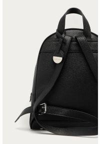 Czarny plecak Silvian Heach gładki, klasyczny