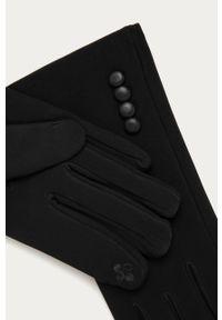 Czarne rękawiczki Answear Lab wakacyjne