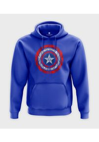 MegaKoszulki - Bluza z kapturem Shield. Typ kołnierza: kaptur