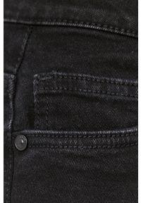 Noisy may - Noisy May - Szorty jeansowe. Okazja: na co dzień. Kolor: czarny. Materiał: jeans. Wzór: gładki. Styl: casual