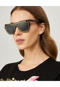 Fendi - FENDI - Okulary przeciwsłoneczne Havana FFluo. Kolor: brązowy