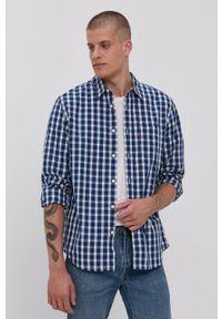 Levi's® - Levi's - Koszula bawełniana. Okazja: na spotkanie biznesowe. Kolor: niebieski. Materiał: bawełna. Styl: biznesowy