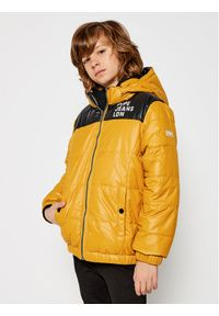 Żółta kurtka puchowa Pepe Jeans