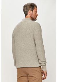 Szary sweter Clean Cut Copenhagen na co dzień, długi, casualowy, z długim rękawem