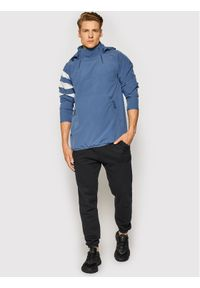Adidas - adidas Kurtka anorak All Blacks All-Weather EH5571 Niebieski Regular Fit. Kolor: niebieski