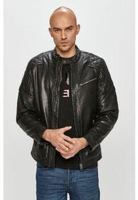 Czarna kurtka Pepe Jeans na co dzień, casualowa