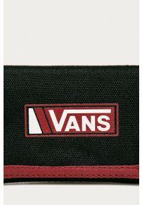 Vans - Portfel. Kolor: czarny. Materiał: materiał