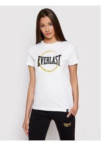 EVERLAST T-Shirt 786790-50 Biały Regular Fit. Kolor: biały