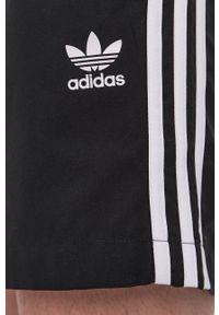 adidas Originals - Szorty kąpielowe. Kolor: czarny