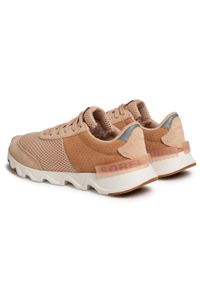 Beżowe buty sportowe sorel z cholewką