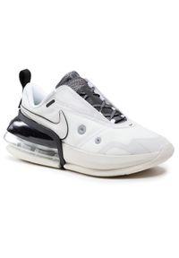 Białe półbuty Nike casualowe, z cholewką, na co dzień