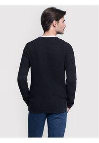 Vistula Sweter Mason Duo XA0784 Czarny Regular Fit. Kolor: czarny