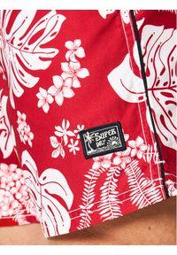 Superdry Szorty kąpielowe Campus Hawaiian M3010120A Czerwony Regular Fit. Kolor: czerwony #5