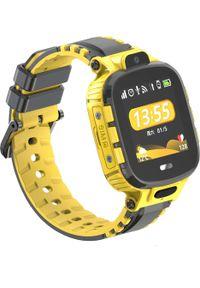 Smartwatch CALMEAN Active Żółty. Rodzaj zegarka: smartwatch. Kolor: żółty