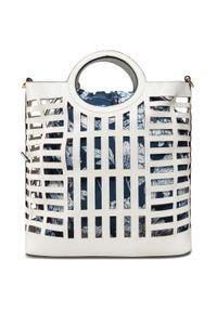 Biała torebka klasyczna Nobo