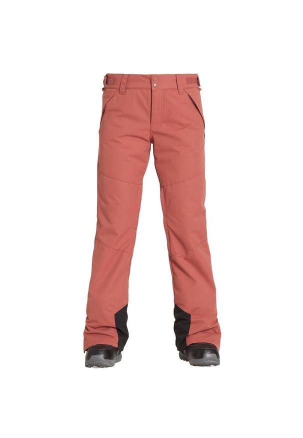 Różowe spodnie narciarskie Billabong