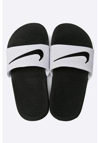 Białe klapki Nike Kids