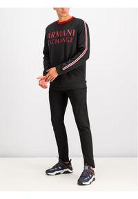 Armani Exchange Bluza 6GZM97 ZJ4DZ 1200 Czarny Regular Fit. Kolor: czarny