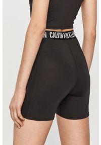 Czarne szorty Calvin Klein Performance casualowe, na co dzień