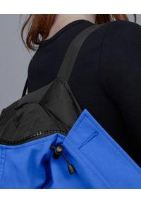 CANADA GOOSE - Niebieska kurtka Chilliwack. Kolor: niebieski. Materiał: materiał, futro. Wzór: aplikacja #8