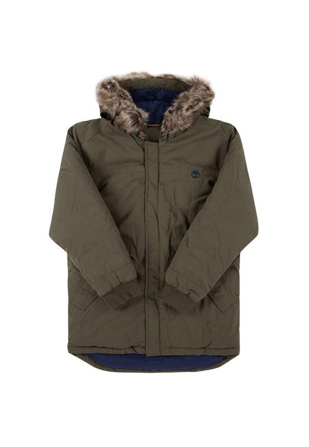 Zielona kurtka zimowa Timberland