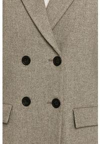 Szary płaszcz medicine bez kaptura, klasyczny #7