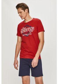 Czerwona piżama Henderson z nadrukiem
