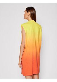 Calvin Klein Jeans Sukienka codzienna J20J217133 Pomarańczowy Relaxed Fit. Okazja: na co dzień. Kolor: pomarańczowy. Typ sukienki: proste. Styl: casual