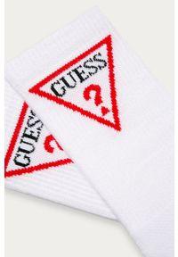 Białe skarpetki Guess Jeans