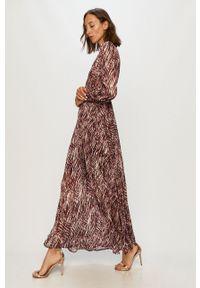 Wielokolorowa sukienka Morgan na co dzień, rozkloszowana, maxi, casualowa