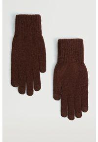 Mango Man - Rękawiczki Touch. Kolor: pomarańczowy