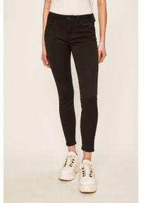 Wrangler - Spodnie. Kolor: czarny