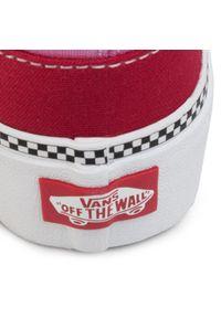 Vans - Tenisówki VANS - Classic Slip-On P VN0A3TL1WVX1 (2-Tone)Chlpepr/Fchsiapnk. Okazja: na spacer. Zapięcie: bez zapięcia. Kolor: czerwony. Materiał: materiał. Szerokość cholewki: normalna