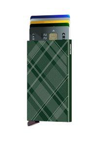 Secrid - Portfel. Kolor: zielony. Materiał: materiał